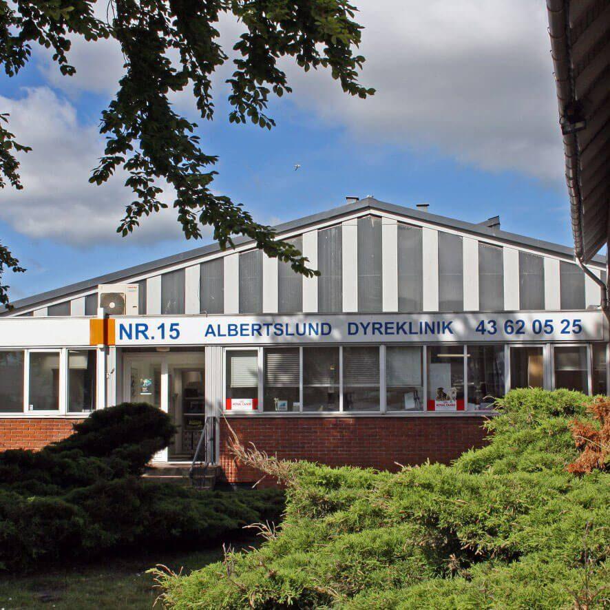 Albertslund-dyreklinik-lokation fungerer som dyrlæge i taastrup